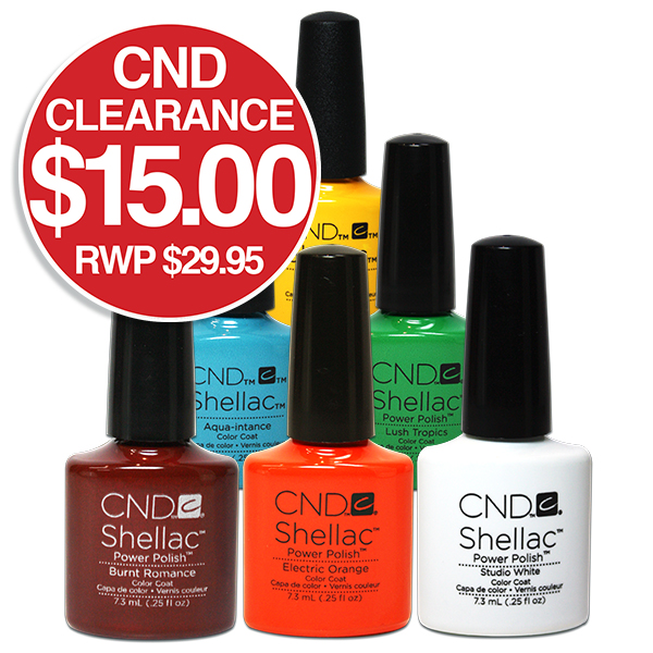 CND Gel Polish Clearance