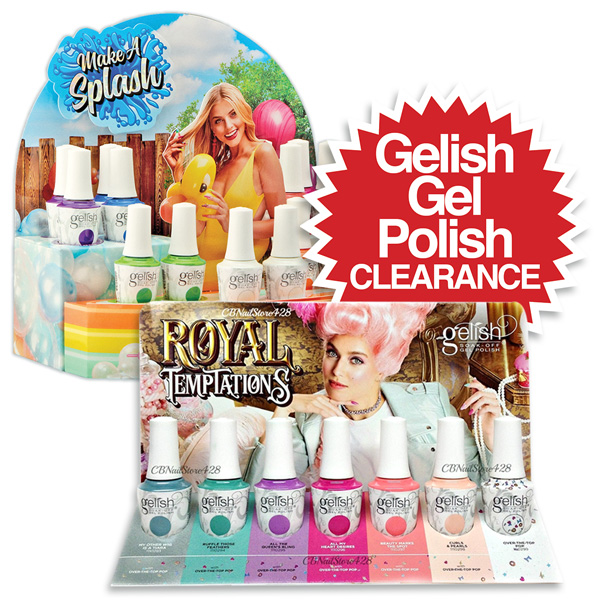 Gelish Selected Colours Clearance