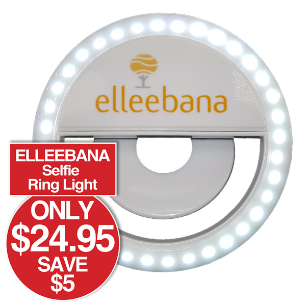 ELLEEBANA SELFIE RING LIGHT