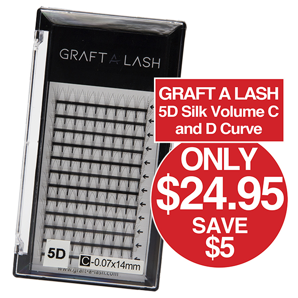 GRAFT A LASH Silk Volume 5D Lash Tray