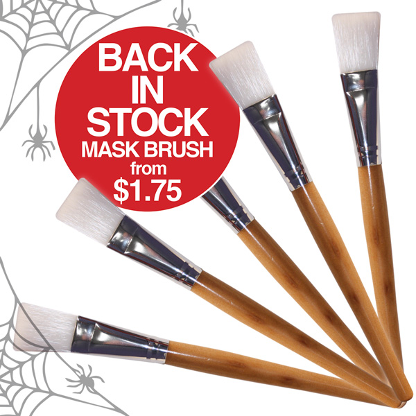 Mask Brushes Back in Stock