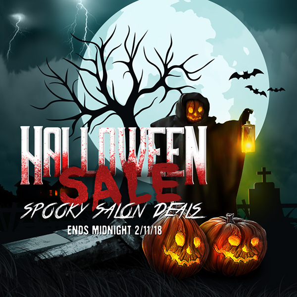 Salon Halloween Spooky Deals