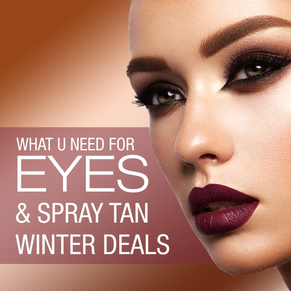 All you need for eyes & Spraytanning