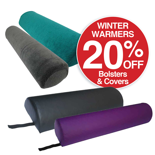 20% OFF Bolsters  & Covers