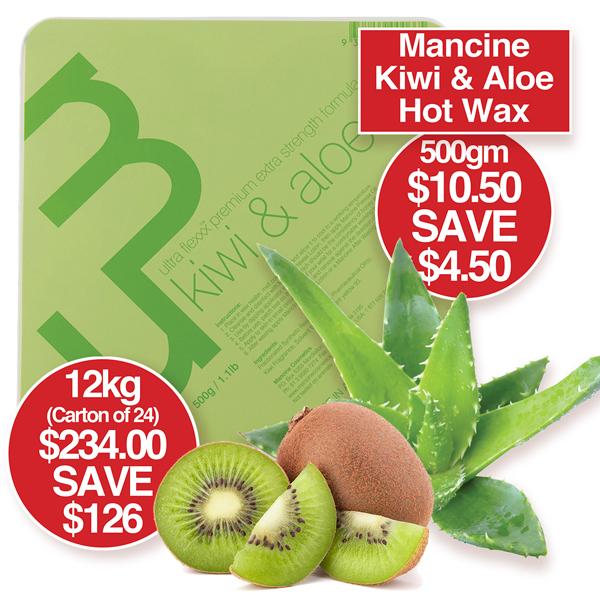Kiwi & Aloe Hot Wax