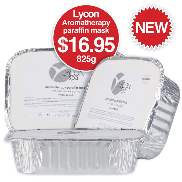 Lycon aromatherapy paraffin mask $16.95