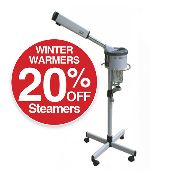 20% OFF Steamers