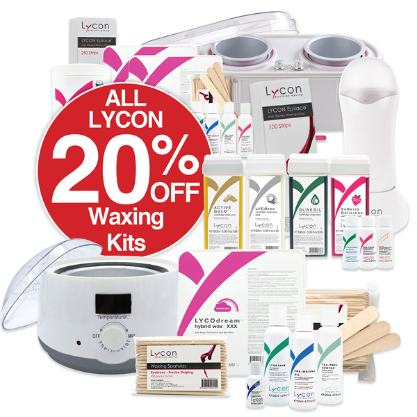 20% OFF Lycon Waxing Kits & Pots