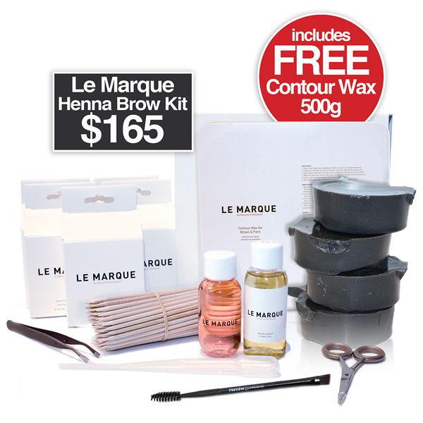 LE MARQUE COMPLETE HENNA STARTER PACK