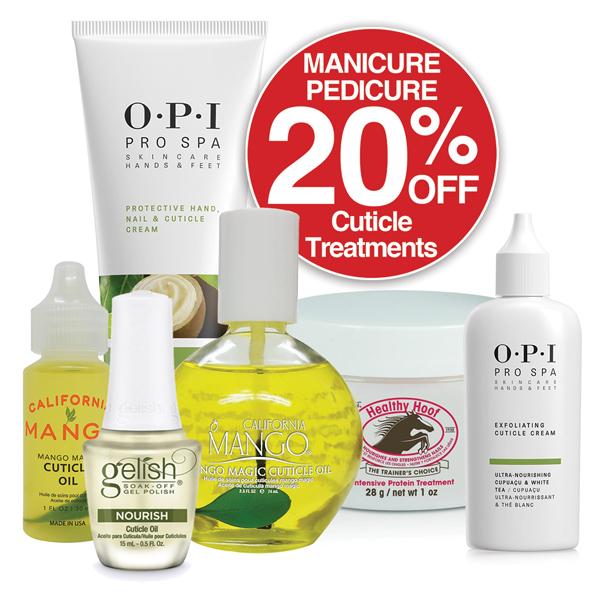 20% OFF Cuticle Treatments