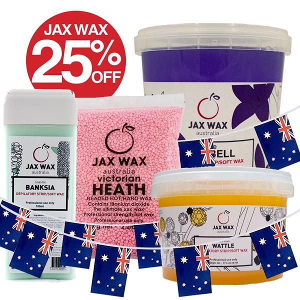 JAX WAX AUSTRALIA 25% Off