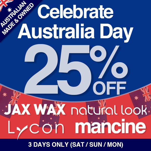 Australia Day 3 day SALE 25% OFF SHOP NOW