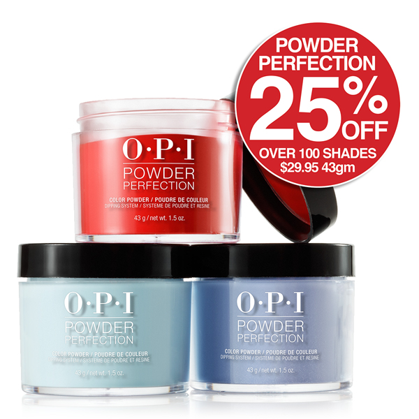 OPI Dipping Powders 25% OFF Wow