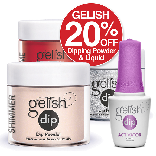 Gelish Dip 20% OFF Boom