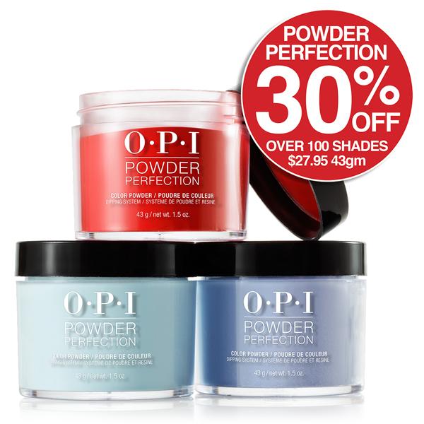 30% Off OPI Dip Powder 43gm