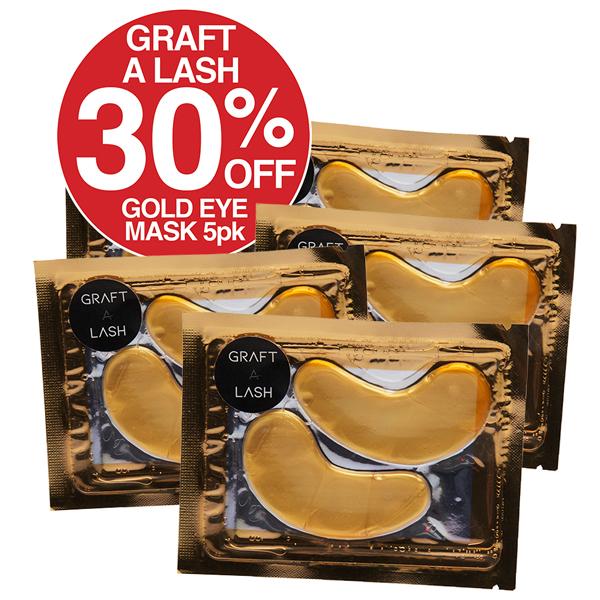 Graft A Lash Gold eye Mask