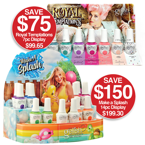 Gelish Collections on SALE