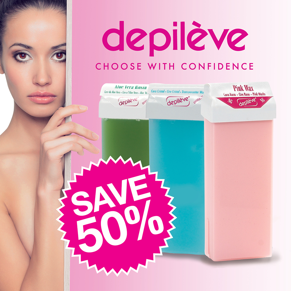 Depileve cartridges ON SALE