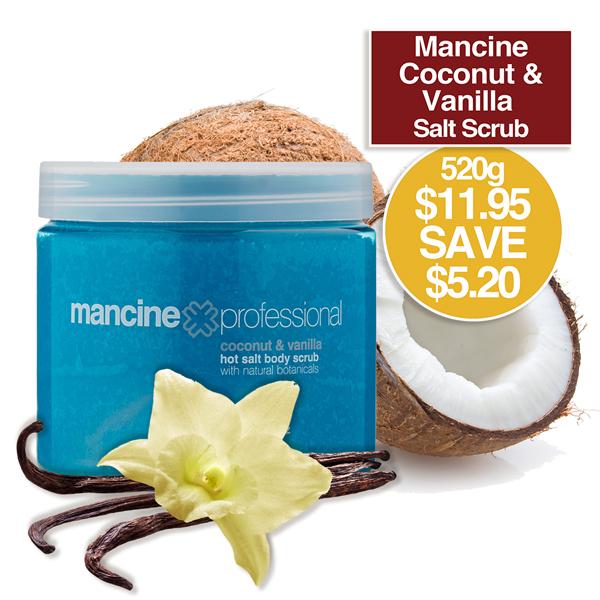 HOT SALT SCRUB 500gm Coconut & Vanilla
