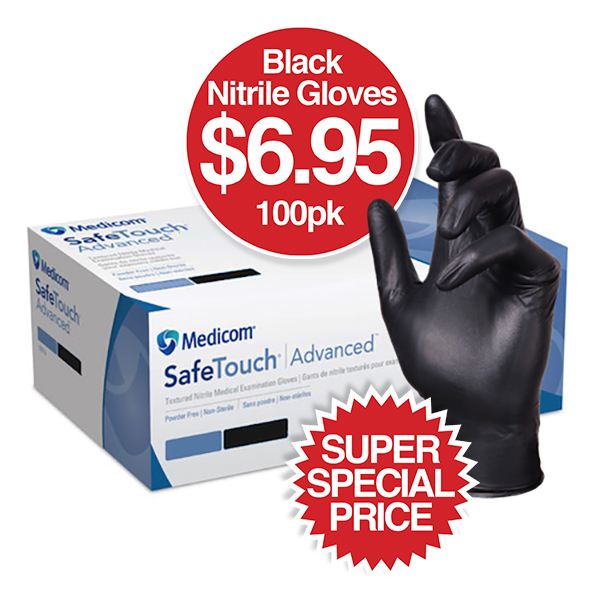 Nitrile Gloves on SALE