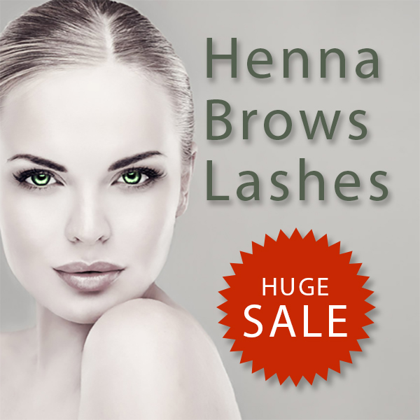 Henna Brows & Lashes ON SALE