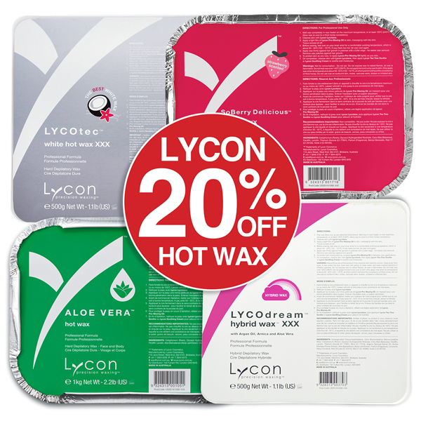 20% OFF Lycon Hot Wax