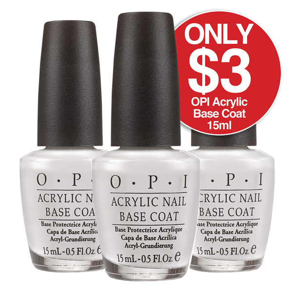 OPI ACRYLIC BASE COAT 15ml