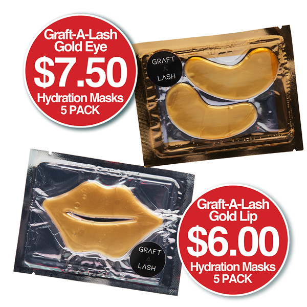Graft a Lash Gold Hydration Masks