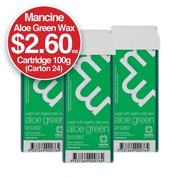 MANCINE ALOE GREEN CARTRIDGE 100gm