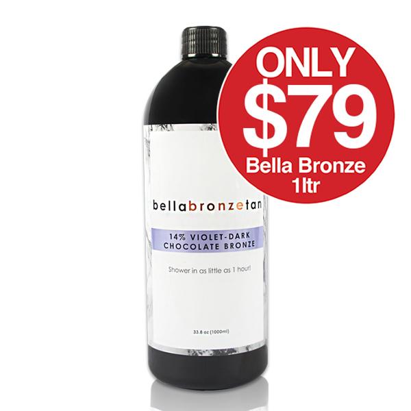 Bella Bronze Spray Tan on SALE