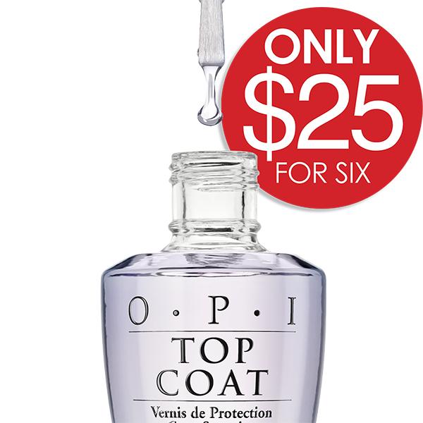 OPI top coat deal