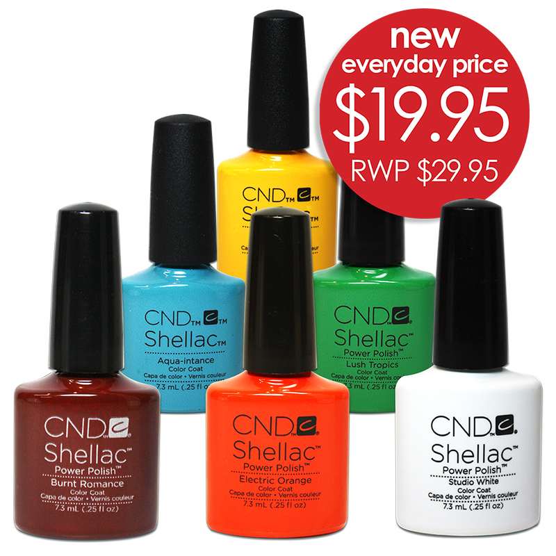CND Shellac $19.95 Normally $29.95