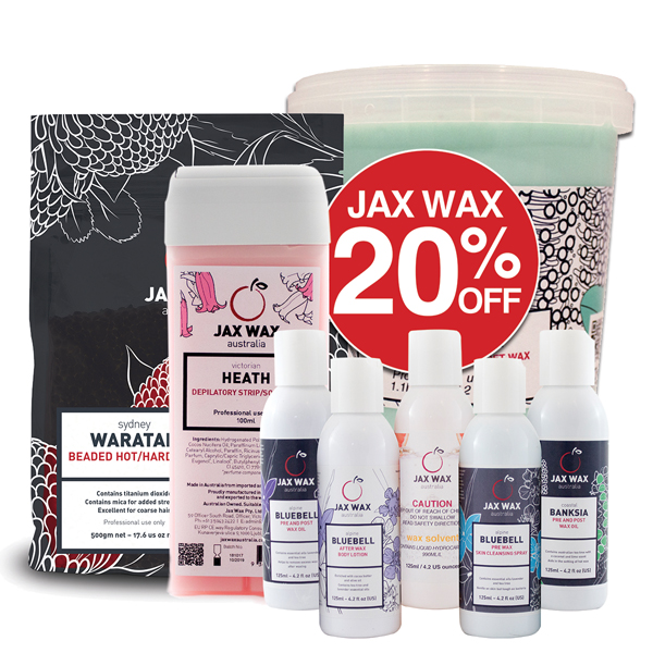 20% OFF Jax Wax Australia