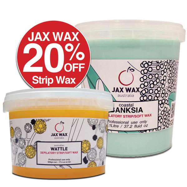 20% OFF Jax Wax Strip Wax