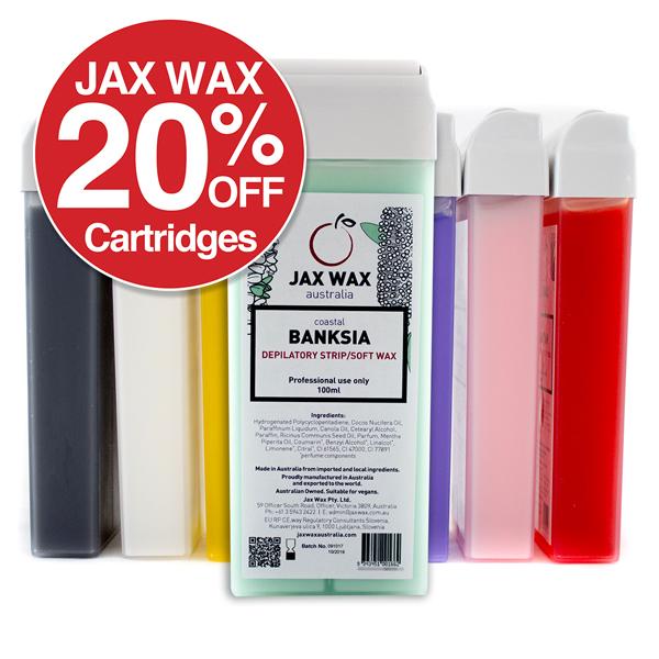 20% Off Jax Wax Cartridges