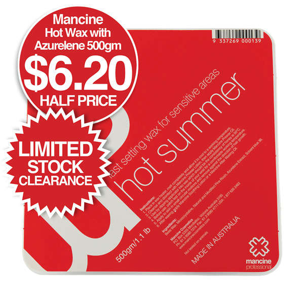 Mancine Summer Hot Wax Clearance