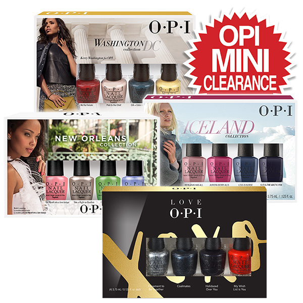 OPI Mini Clearance