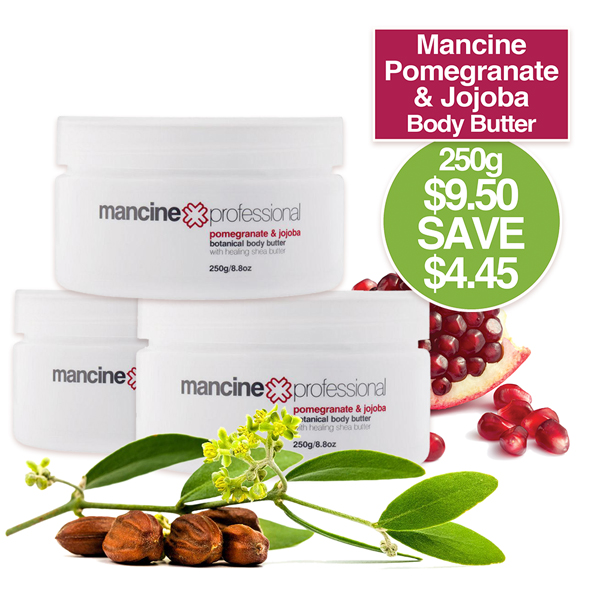 BODY BUTTER 250gm Pomegran & Jojoba