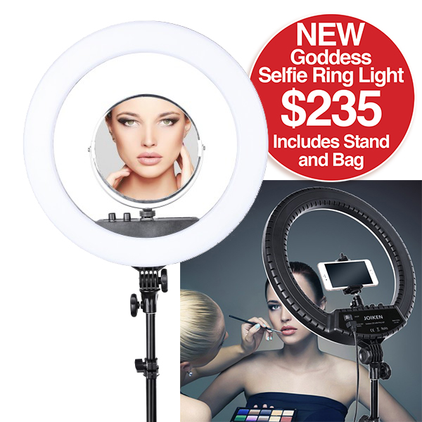 JOIKEN GODDESS LED SELFIE RING LIGHT