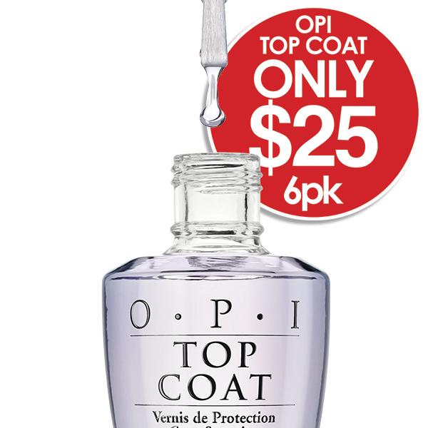 OPI TOP coat 6 pack