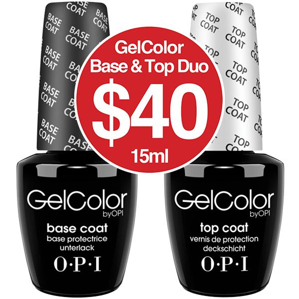 OPI Gelcolour BASE & TOP DUO