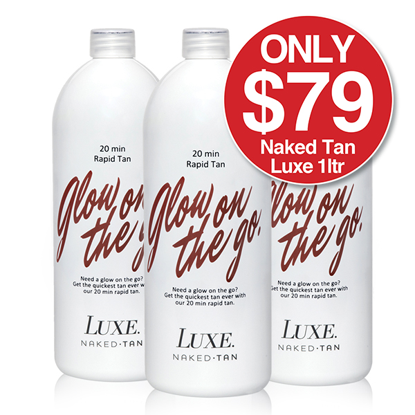NAKED TAN LUXE RAPID TAN 1 Litre