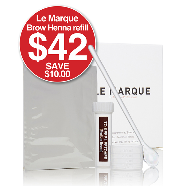 LE MARQUE BROW HENNA 12 Pack