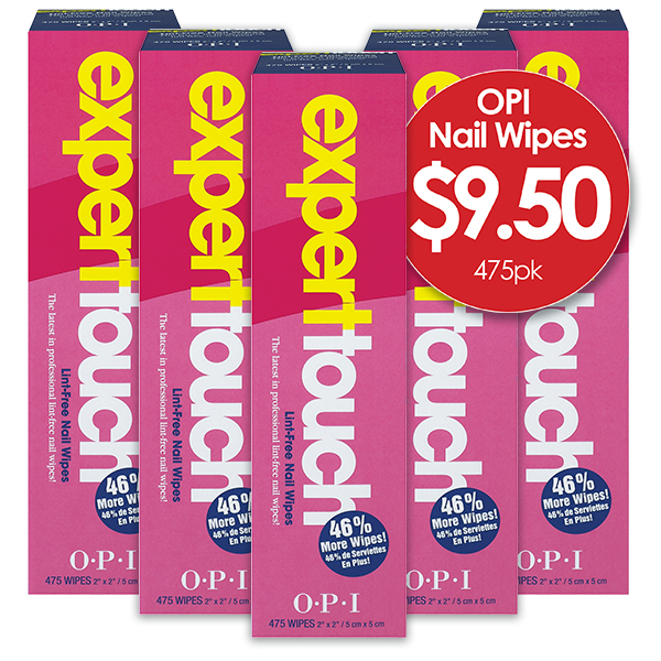 OPI Expert Touch Remover Wipes