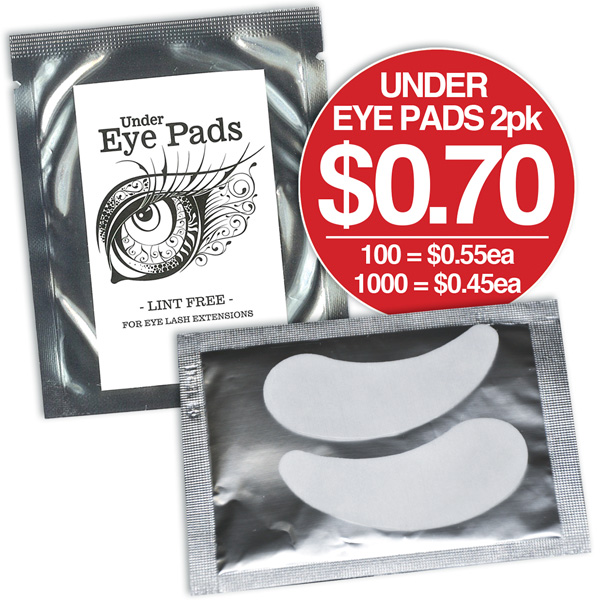UNDER EYE LINT FREE EYE PADS FOR LASH GRAFTING