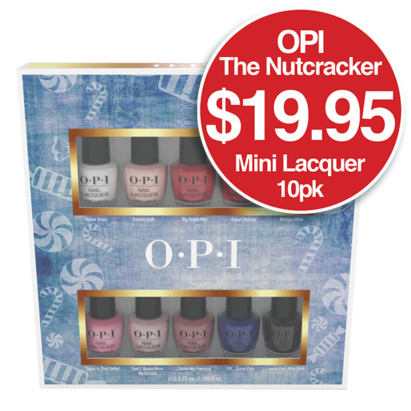Nutcracker Lacquer 10 Pack $19.95