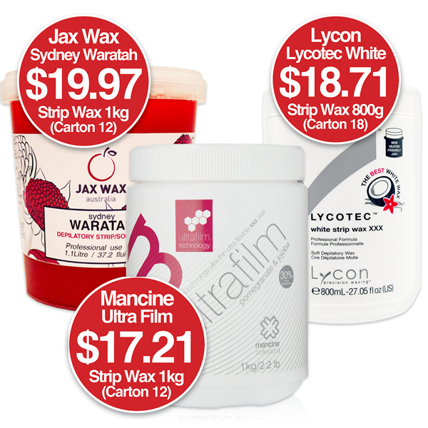 25% Off Strip wax when you buy in Bulk