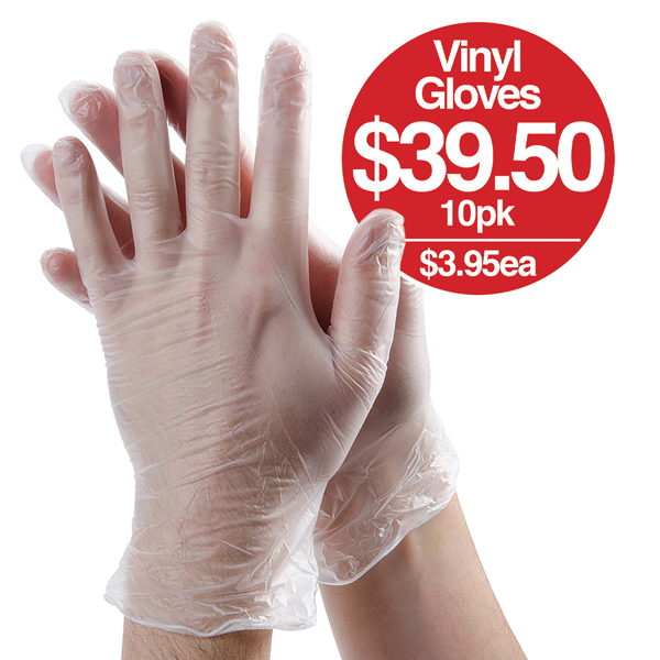 Vinyl Gloves Bulk Buy save 25%