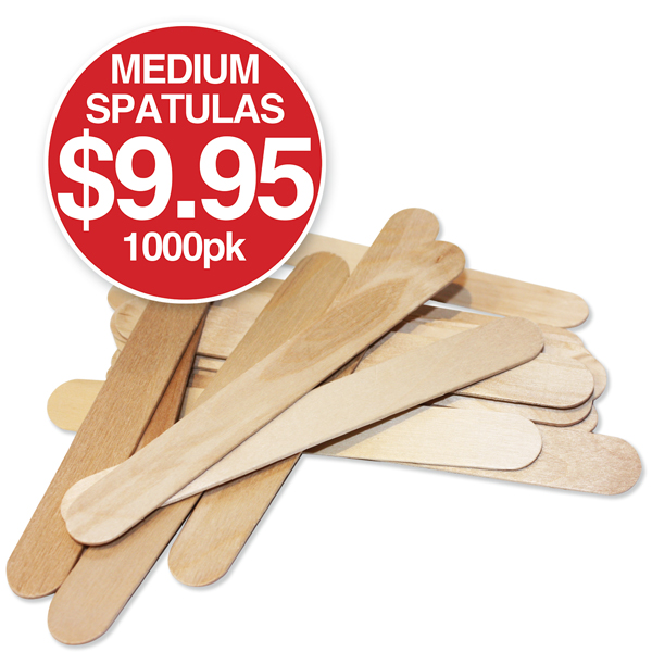 b SPATULAS WOODEN Medium Buy in Bulk and Save