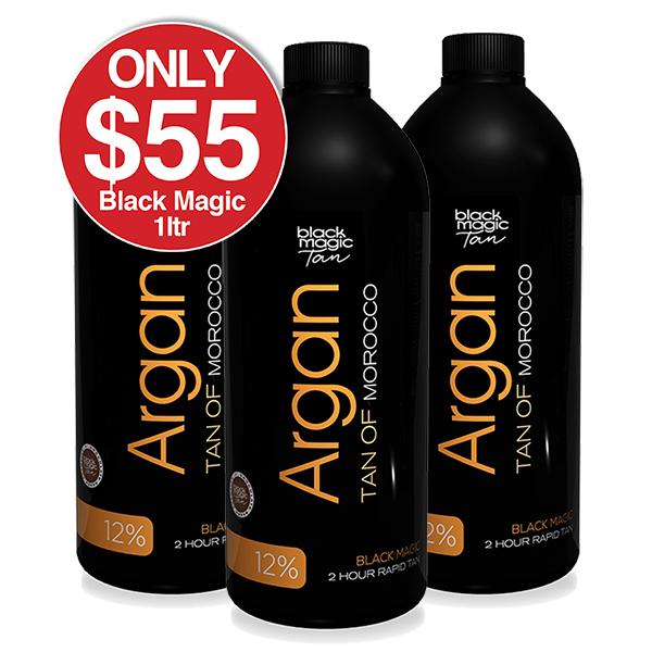 Black Magic Argan Tan ON SALE